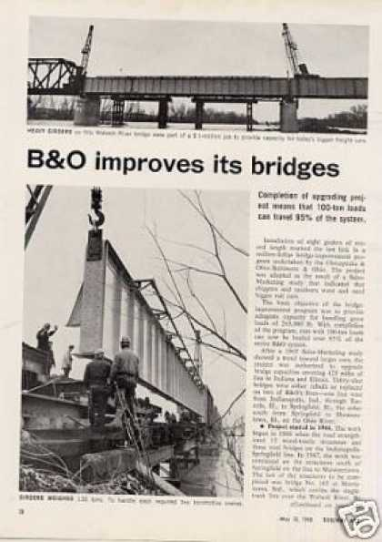 """B&o Improves It's Bridges"" Article (1968)"
