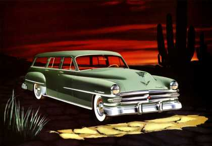 Chrysler New Yorker Deluxe Town & Country Larry Baranovic (1953)