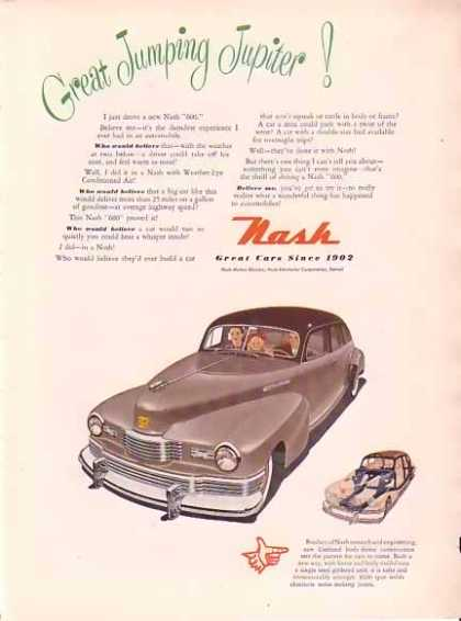 Nash Motors – Jumping Jupiter (1948)