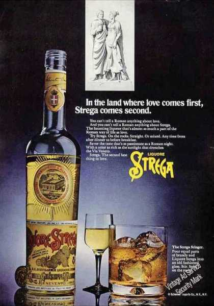"Liquore Strega ""Land Where Love Comes First"" (1972)"