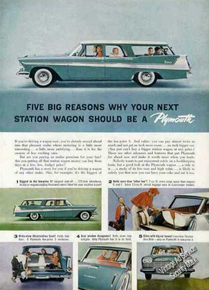 Plymouth Station Wagon Photos (1958)