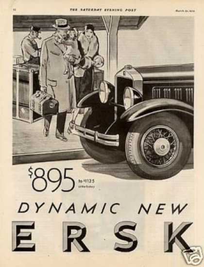 Studebaker Erskine Car Ad 2 Page (1930)
