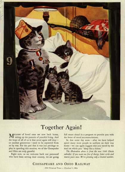 Chesapeake and Ohio Railway – Together Again (1945)