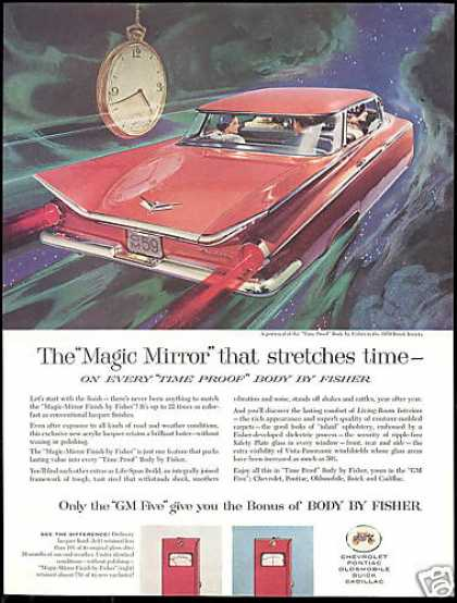 Buick Invicta Car 4dr GM Body By Fisher (1959)