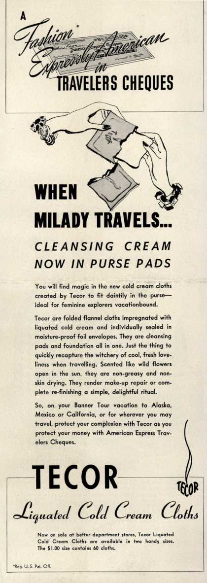 Tecor – When Milady Travels... (1941)