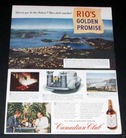 Canadian Club Wartime, Rio (1944)