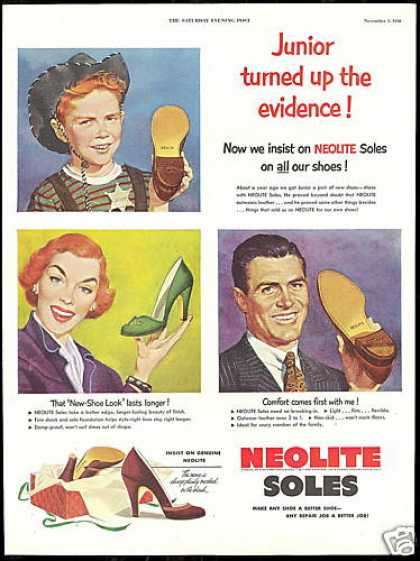 Neolite Soles Make A Better Shoe Vintage (1950)