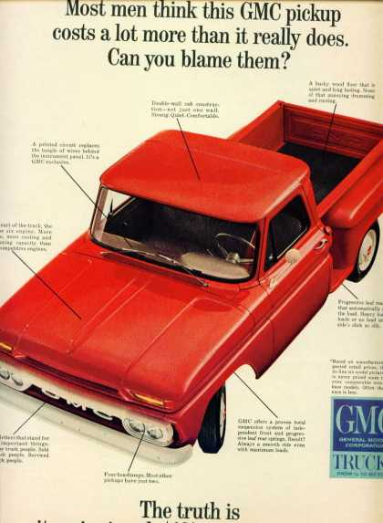 Gmc Trucks Gmc Pickup In (1965)