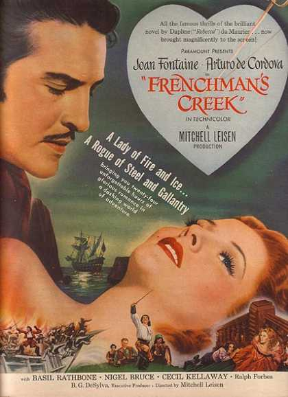 Frenchman's Creek (Joan Fontaine and Arturo de Cordova) (1945)