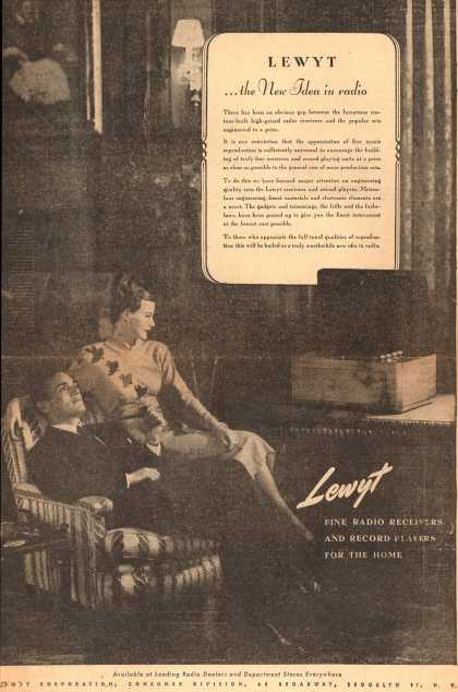 Lewyt Corporation's Various – Lewyt ...the New Idea in radio (1946)
