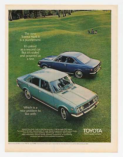 Toyota Mark II 2 Hardtop & 4-Door Sedan (1970)