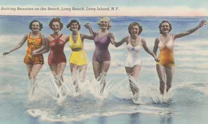 Bathing Beauties, Long Island, New York