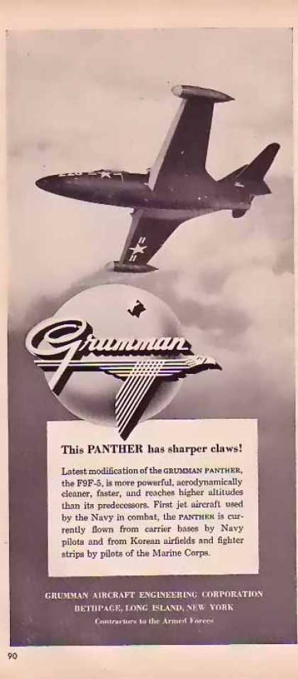 Grumman Aircraft – Panther has sharper claws (1951)