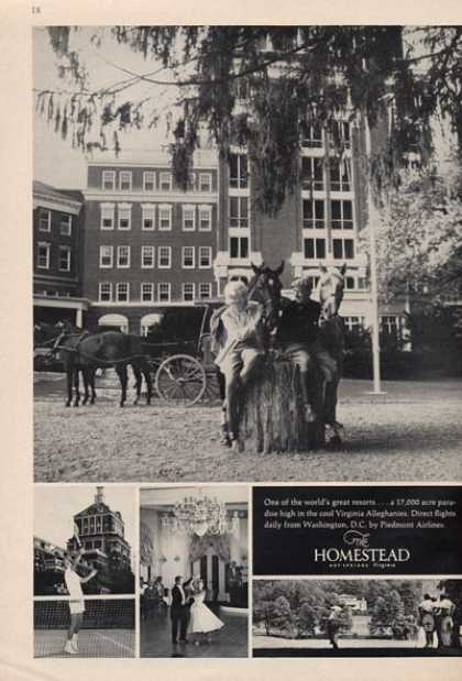 Homestead Resort Virginia Alleghanies (1966)