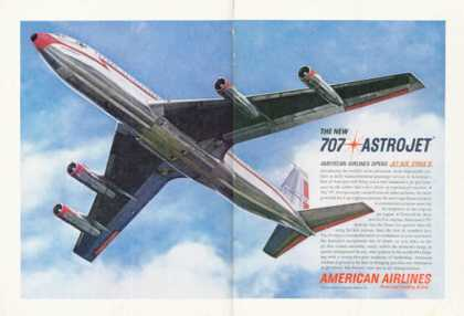 American Airlines Astrojet Airplane (1961)