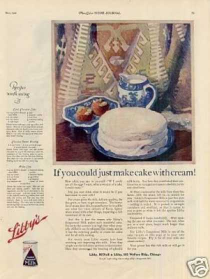 Libby's Evaporated Milk (1921)