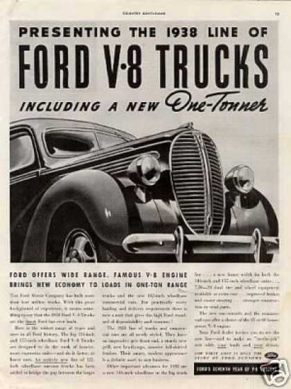 1938 Ford Truck. Ford V-8 Truck (1938)