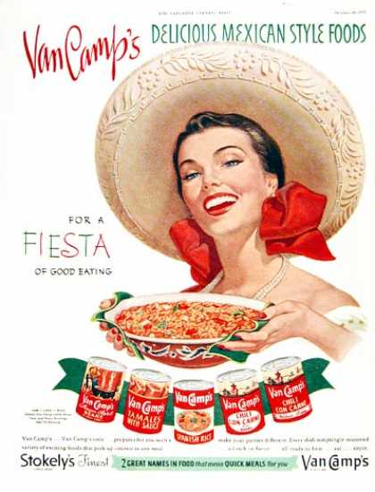 Van Camp's Mexican Foods (1951)