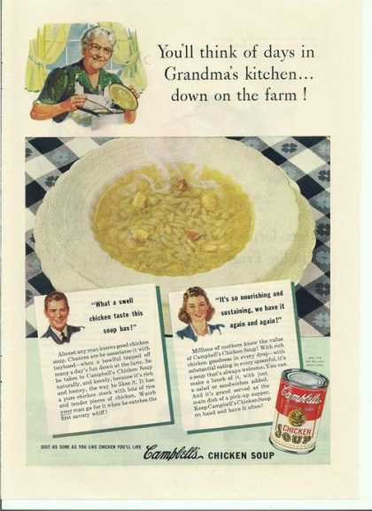 Campbells Chicken Soup (1942)