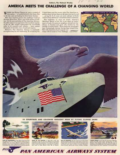 Pan American Airways System – America Meets The Challenge of a Changing World (1940)