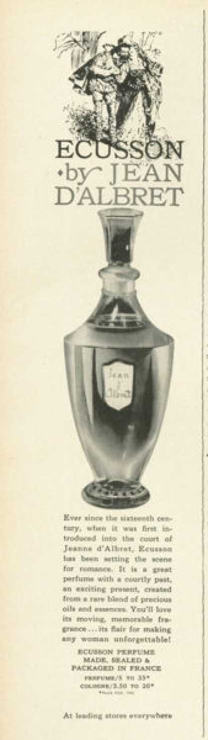 Jean D'albret Ecusson Parfume Bottle (1961)