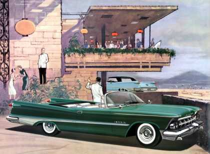 Imperial Crown Convertible in Sherwood Green Charles Schridde (1959)