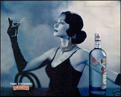 Smirnoff Vodka Martini Sophisticated Lady (1994)