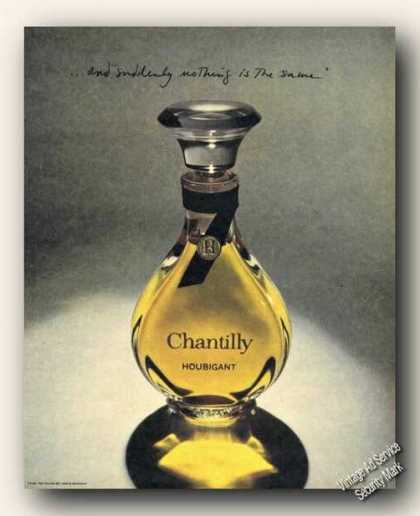 Chantilly Houbigant Suddenly Nothing the Same (1973)