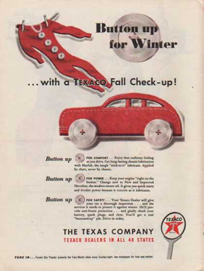 Texaco – Texaco Fall Check Up (1947)