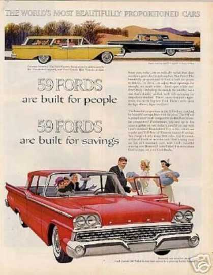 Ford Cars (1959)