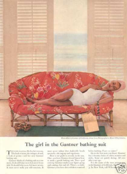 Gantner of California Fashion Bathing Suit (1957)