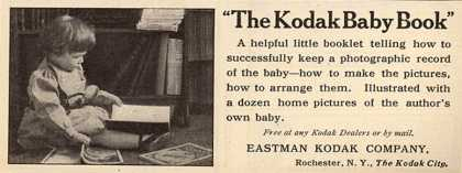Kodak – The Kodak Baby Book (1908)