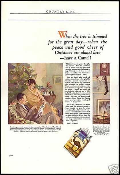Camel Cigarettes Christmas Almost Here (1926)