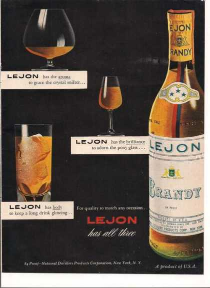 Lejon Has All Three Brandy (1949)