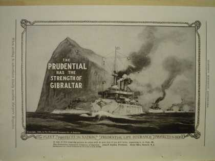 Prudential Life Insurance Co Rock of Gibraltar (1909)