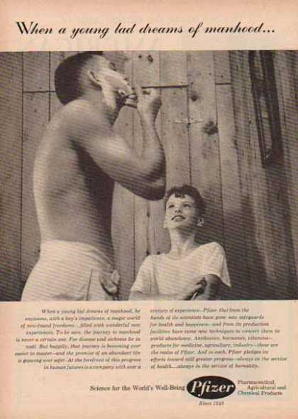 Pfizer Pharmaceutical – Manhood (1958)