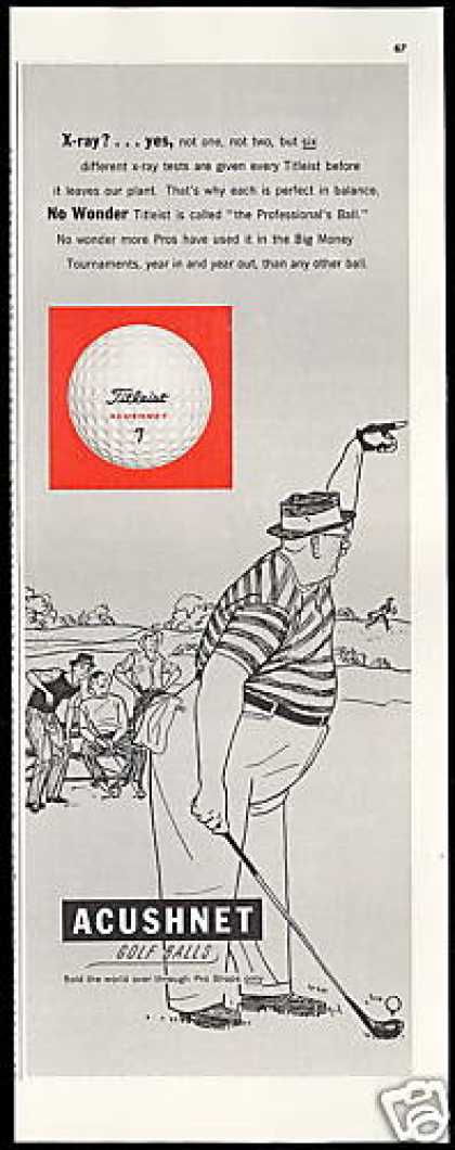 Titleist Acushnet Golf Ball Vintage (1951)