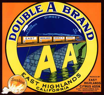Double A Oranges, c. 			s (1940)