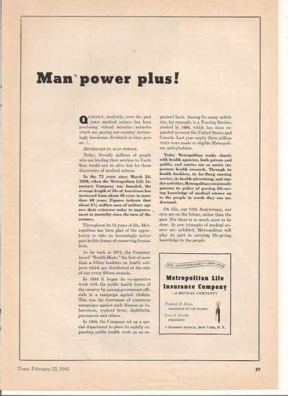 Man Power Metropolit (1943)