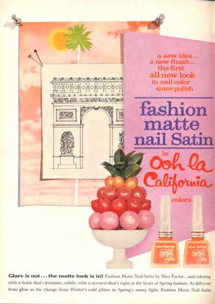 Max Factor Fingernail Polish (1962)