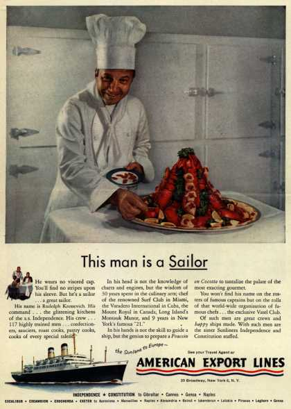 American Export Lines – This man is a Sailor (1954)