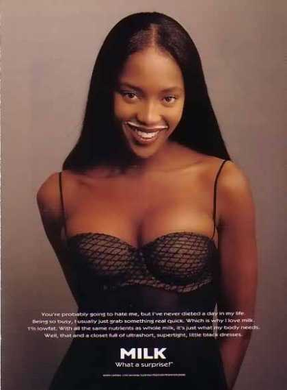 Naomi Campbell &#8211; GOT MILK (1995)