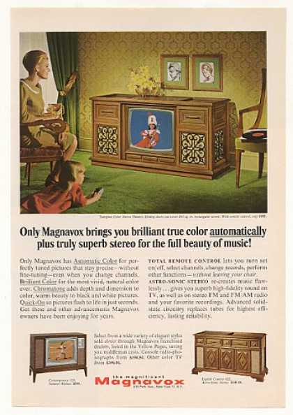 Magnavox Tampico Color Stereo Theatre TV (1966)