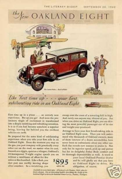 Oakland Custom Sedan Color (1930)