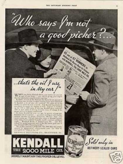 Kendall Oil (1934)