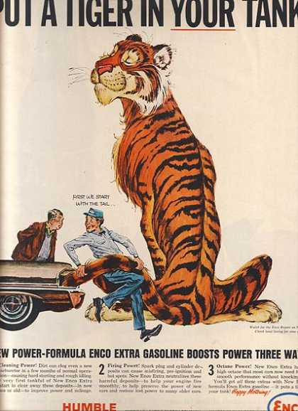 Enco's Power-Formula Gasoline (1964)