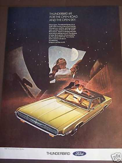 Ford Thunderbird 2dr Landau W Sunroof Car Photo (1969)