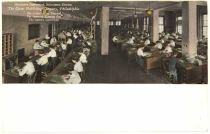 Curtis Publishing Co.'s Circulation Department – The Curtis Publishing Company (1912)