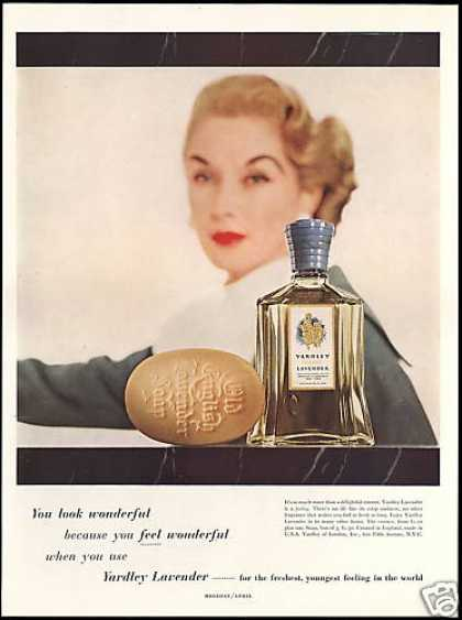 Yardley English Lavender Soap & Bottle (1955)