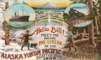 Scenes of Exposition, Seattle, Washington (1909)